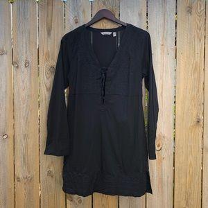 Athleta | Black Kimssa Tunic Dress